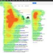 SERP heat map Google automotive SEO