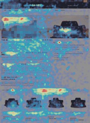 conversion rate optimization heat mapping