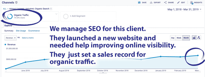automotive marketing agency seo results