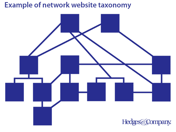 network website taxonomy